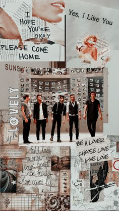 One direction lockscreen Four One Direction, One Direction Collage, One Direction Background, One Direction Posters, One Direction Facts, Members Of One Direction, One Direction Imagines, One Direction Pictures, One Direction Memes