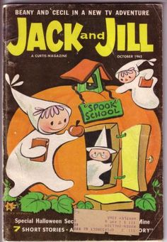 Halloween issue of Jack and Jill magazine - Oct 1962