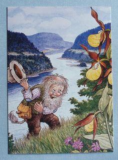 Rolf Lidberg Troll postcard