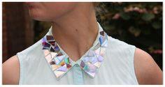 Collana colletto fai da te: come personalizzare una vecchia camicia