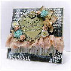 Riddersholm Design: Valentin Card by Dunja | Today i love you more ..... Barn Market Collection