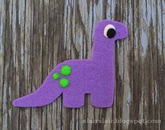 Make a felt dinosaur, number it and then children put the matching amount of spikes or spots on the dinosaur's body