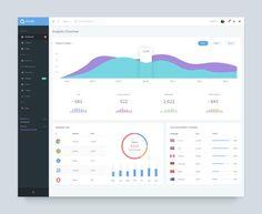 Analytics overview dashboard