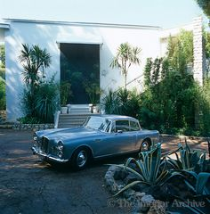 A 1960 Graber Alvis car stands in the driveway of the house that was built in 1969 Gallery, Building, Interior, 1960s, House, Image, Cars, Beautiful, Design