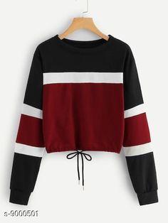 Sweatshirts  Tshirts Fabric: Cotton Sleeve Length: Long Sleeves Pattern: Printed Multipack: 1 Sizes: S XL L M Country of Origin: India Sizes Available: S, M, L, XL   Catalog Rating: ★4 (8513)  Catalog Name: Urbane Ravishing Women sweatshirts CatalogID_1552808 C79-SC1028 Code: 143-9000501-309