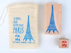 Paris Rubber Stamp Set