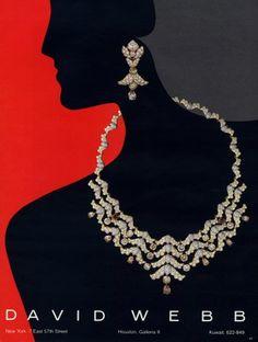 David Webb (Jewels) 1984 Necklace, Earings