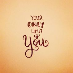 Your only limit is you  #letteringwithpositivity   #letteringday7 #practice #lettering #handlettering #letteringpractice #handletteringpractice http://ift.tt/2iTbuXA Your only limit is you letteringwithpositivity  letteringday7 practice lettering handletterin