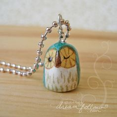 Tiny Blue Owlet by Aimee Ray