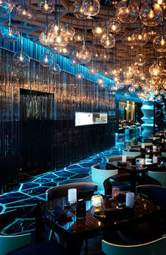 wonderwall have designed the interiors for the ozone bar located on the 118th floor of the new ritz-carlton hong kong.