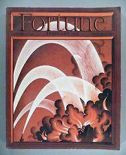 Fortune Magazine - February, 1937 -- Petruccelli cover -- great condition