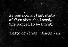 from 'Delta of Venus' - Anais Nin