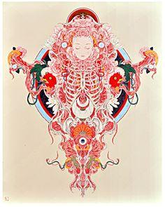aphrodisiacart:  TAKATO YAMAMOTO View Full Screen   Gallery Kogure -Art Fair Tokyo 2015