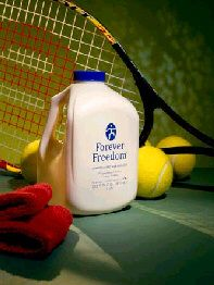 Forever Freedom® has combined aloe vera with substances that are helpful for the maintenance of proper joint function and mobility in a tasty, orange-flavored juice formula.For more information visit www.life140.de