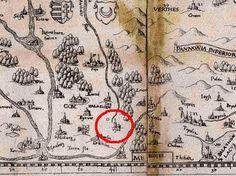Detaillierte Karte von L. Hulsius