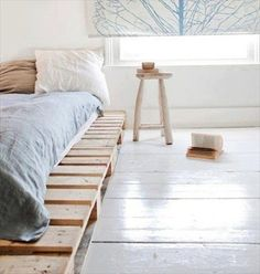 Beautiful and comfortable pallet beds for you newly designed bedroom.