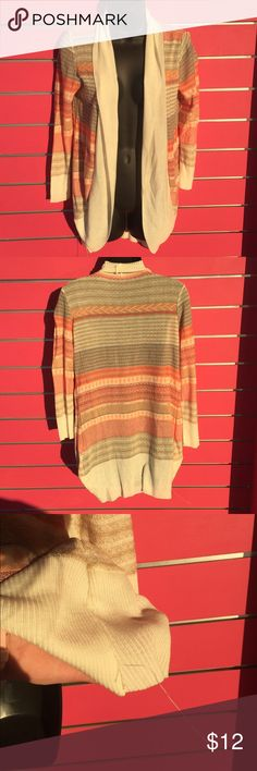 Aztec cardigan Only worn once - has a small snag at the bottom * pictured debut Sweaters Cardigans