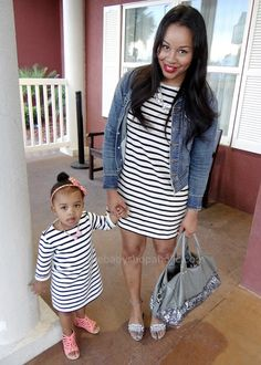 Nautical Stripes Mommy & Me