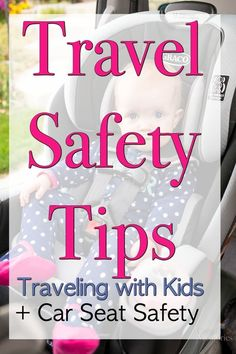 Before you take your next trip ensure that all these travel safety tips are in place, including car safety, car kits and proper car seat use for children.  Plus an in-depth look into the Graco Extend2Fit 3-in-1 car seat that extends rear-facing for childr