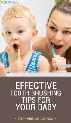 There are some important points you need to keep in mind when it comes to how to brush baby teeth and also to ensure good dental care of your baby- and that's what we've explained here.