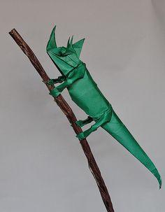 Origami Craft, Camaleón de Robert Lang