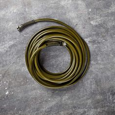 A garden hose that is safe to drink from: Slim & Light Professional Garden Hose | Williams-Sonoma.