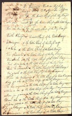 Osage treaty signatures  by Missouri History Museum, via Flickr