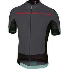 Castelli Forza Pro Jersey  Mens AnthraciteRed XL >>> Find out more about the great product at the image link. (This is an affiliate link) #MenShirts