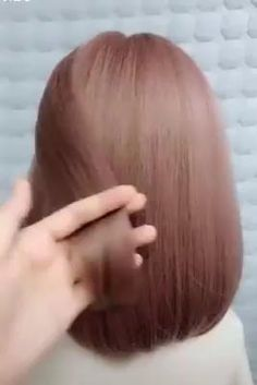 Easy Hairstyles For Long Hair, Cute Hairstyles, Braided Hairstyles, Hairstyles Videos, Hair Videos, Hair Updos For Medium Hair, Beautiful Hairstyles, Short Hair Braid Styles, Beanie Hairstyles