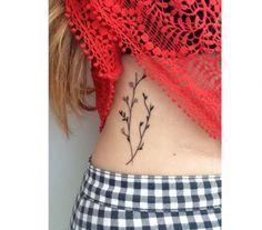 Śliczne tatuaże z motywem roślinnym - wzory dla subtelnych dziewczyn - Strona 6