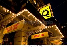 Avenue Q at the Noel Coward Theatre in St Martins Lane London England - Stock Image