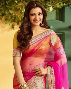Kajal agarwal cutest face unseen latest images of her body show and navel pics with hot sexy big cleavage and bikini photos collection. Beautiful Girl In India, Most Beautiful Indian Actress, Beautiful Saree, Beautiful Ladies, Kajal Agarwal Saree, Wedding Saree Blouse Designs, Indian Photoshoot, Indian Models, Bikini Photos