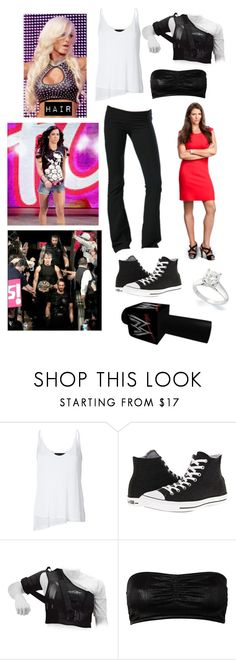 """The Authority, Evolution, The Shield, Phoebe & AJ Lee Segment"" by alexisradkegreen ❤ liked on Polyvore featuring rag & bone, So Low, Converse, Rut&Circle and Kane"