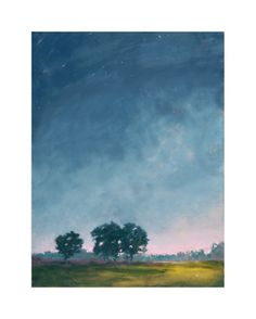 """""""Twilight"""" - Art Print by Stephanie Goos Johnson in beautiful frame options and a variety of sizes."""