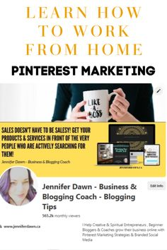 Pinterest Business Marketing - Whether you are just considering starting an online business or have an existing business, the tips in this step by step guide will show you can create and market your business with these Pinterest Marketing Strategies. Learn how to create additional passive income with affiliate marketing for beginners. Learn branding on a budget, how to find targeted keywords and increase website traffic. #bloggingforbeginners #passiveincome #pinteresaffiliatemarketing… Small Business Marketing, Social Media Marketing, Online Business, Digital Marketing, Content Marketing, Marketing Strategies, Marketing Ideas, Marketing Tools, Business Planning