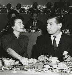 Ava Gardner and Clark Gable, MGM's 25th Anniversary, 1949