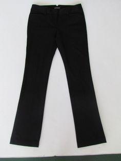 NWOT EXPRESS COLUMNIST BLACK BARELY BOOT LEG PANTS, 2R #Express #DressPants