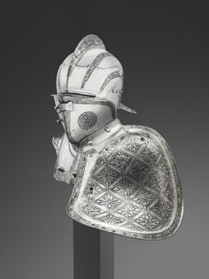 Parts of an Armor for the German Joust of War in the Open Field (Freiturnier) attributed to the German Smith Hans Rosenberger.
