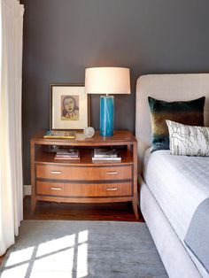 The decorating experts at HGTV.com share 15 designer tricks for making a small bedroom feel larger.