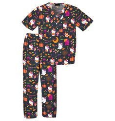 Childrens Hello Kitty Candy - Halloween Scrub Set - Infinity Scrubs of AR Kids Scrubs Kids Scrubs, Buy Scrubs, Cherokee Uniforms, Cherokee Scrubs, Baby Phat Scrubs, Halloween Scrubs, Hello Kitty Clothes, Fitness Motivation Pictures, Scrub Sets