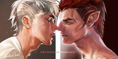 Love knows no boundaries by sakimichan.deviantart.com on @DeviantArt