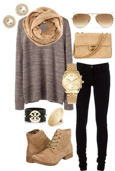 Pretty neutral outfit.