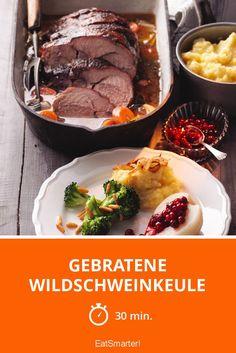 Gebratene Wildschweinkeule - smarter - Zeit: 30 Min. | eatsmarter.de