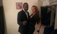 Melina & El Zeraw Backstage @ Club 22 Live Stage