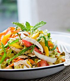 Paleo-Friendly Spicy Chicken Salad