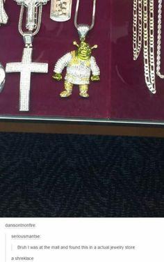 Shrek is love. Shrek is life. S-Shrek