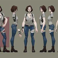 ArtStation - character concept, sangmin choi