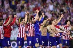 El Atlético de Madrid vuelve a semifinales de copa de europa 40 años después