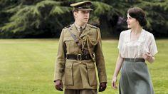 "Dan Stevens and Michelle Dockery Matthew Crawley and Lady Mary Crawley in ""Downton Abbey"" season two."