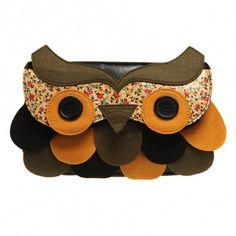 Irregular Choice Clutchbag TWIT TWOO green: Amazon.de: Schuhe & Handtaschen
